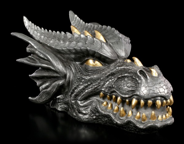 Dragon Box - silver and gold colored