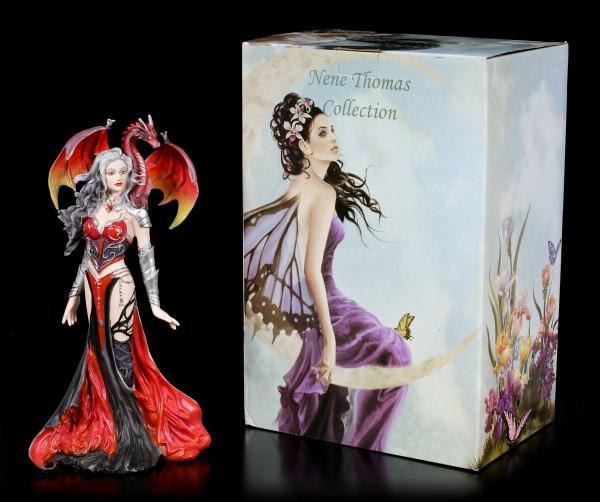 Hexen Figur mit Drache - Severeille Witch by Nene Thomas