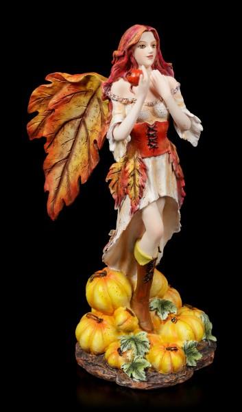Autumn Fairy Figurine - Sonya with Pumpkins