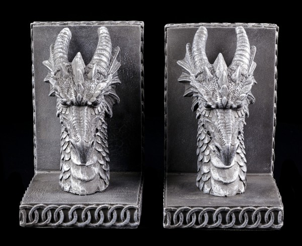 Dragon Bookends - Dragon Heads