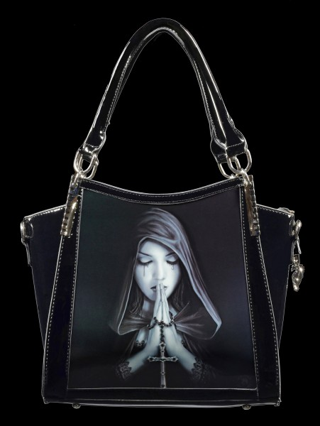 Fantasy Handbag with 3D Picture - Gothic Prayer