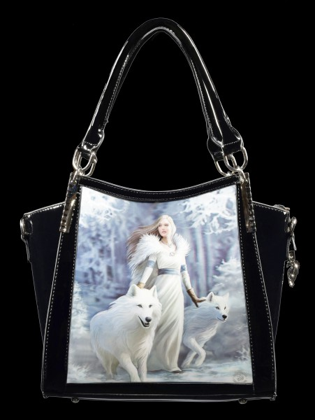 Fantasy Handbag with 3D Picture - Winter Guardians
