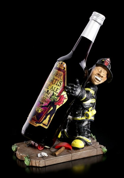 Funny Job Bottle Holder - Fire Fighter