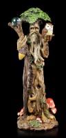 Waldgeist Figur - Stehend mit Eule