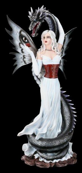 Elfen Figur Alida mit Seeschlange