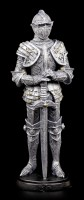 Knight Figurine with Sword directed to the Ground