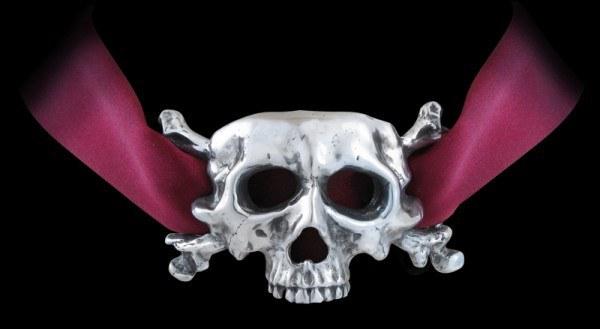 I Dieth - Alchemy Gothic Skull Choker