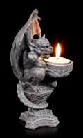 Gargoyle Tealight Holder - Light of your Soul
