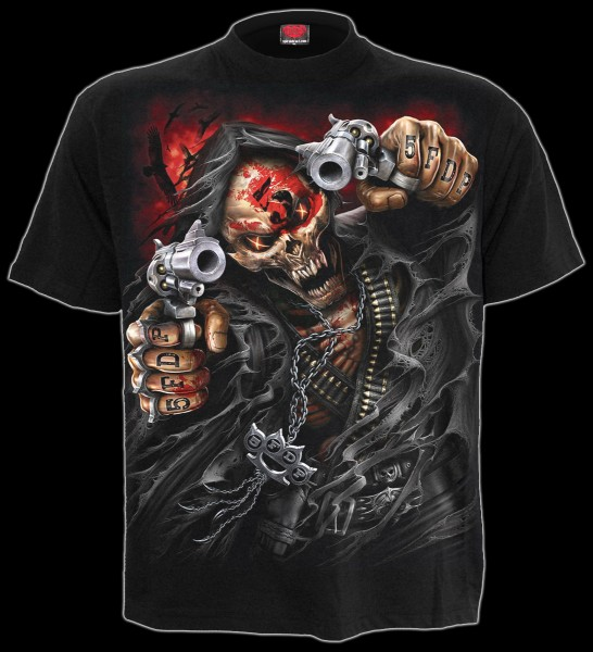 Five Finger Death Punch T-Shirt - 5FDP Assassin
