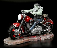 Zombie Biker Figurine by James Ryman