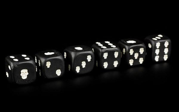 Skull Dice - Set of 6