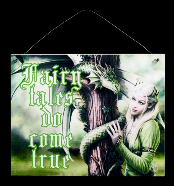 Kindred Spirit Metal Sign - Fairy tales do come true