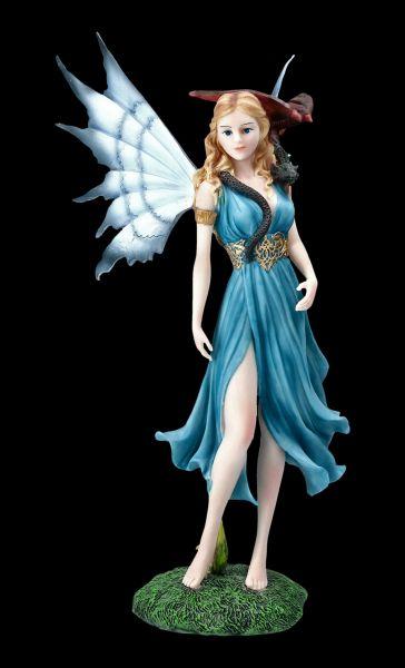 Elfen Figur - Kalia mi Drache auf Schulter