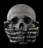 Totenkopf - Speak No Evil - schwarz