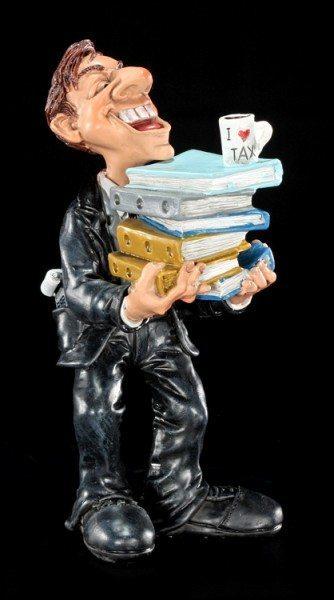 Funny Job Figurine - Tax Accountant