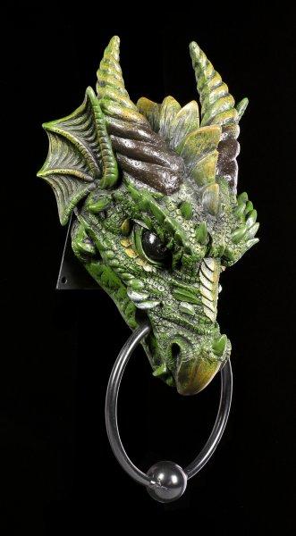 Doorknocker - Dragon Kryst - green