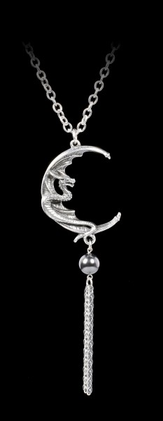 Alchemy Dragon Necklace - Naga Moon