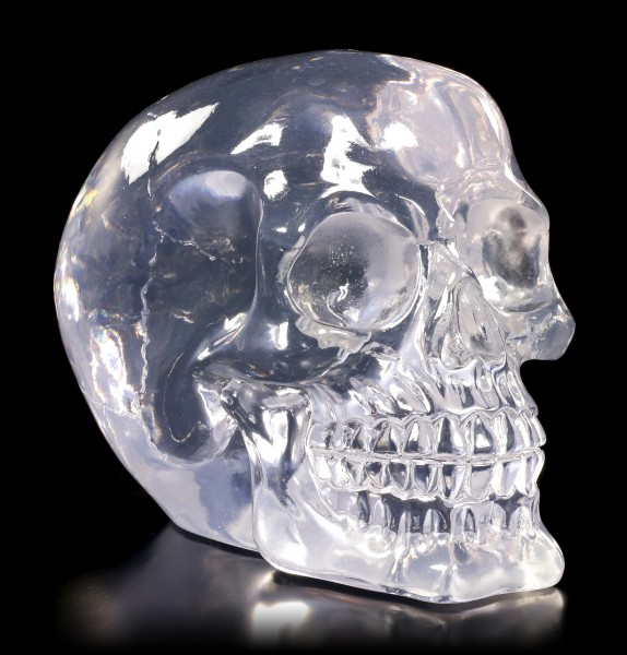 Translucent Skull neutral - Clear Thinking