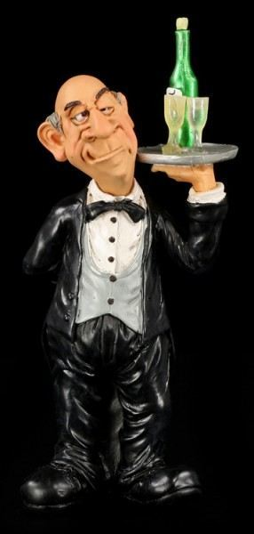 Butler - Funny Job Figurine