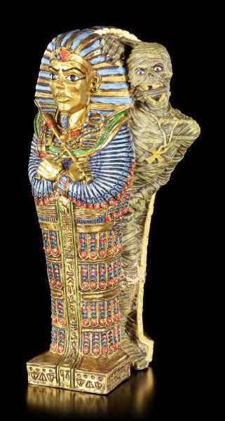 Ägyptische Figur - Lebende Mumie