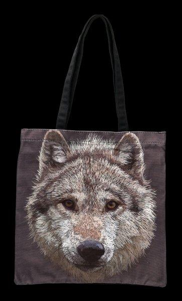 Tragetasche - Wolf Stare