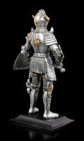 Knight Figurine with Dragon Shield and Sword