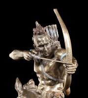 Indianer Figur - Mohikaner mit Bogen