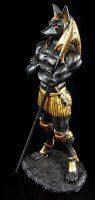 Anubis Figure as Warrior