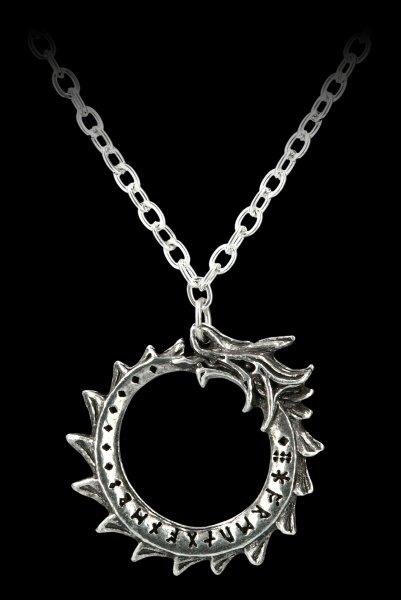 Alchemy Wikinger Halskette - Midgardschlange Jormungand