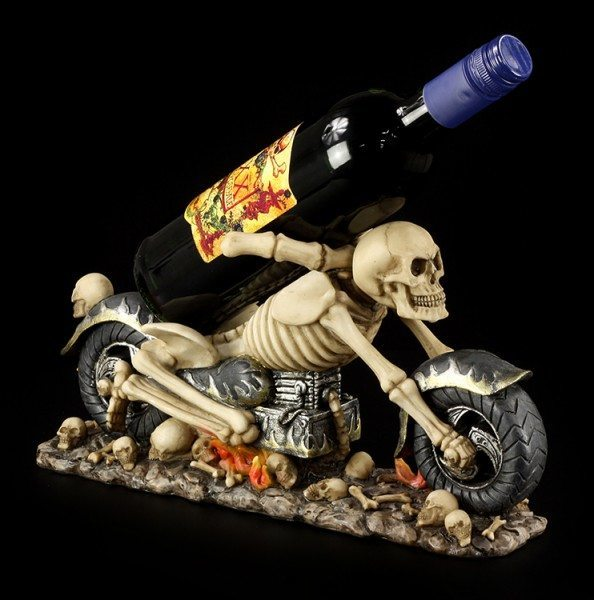 Skeleton Bike Bottle Holder - Death Ride