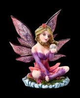 Fairy Figurine - Mini Fairy on Water Lily