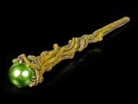 Wand - Emerald Orbuculum