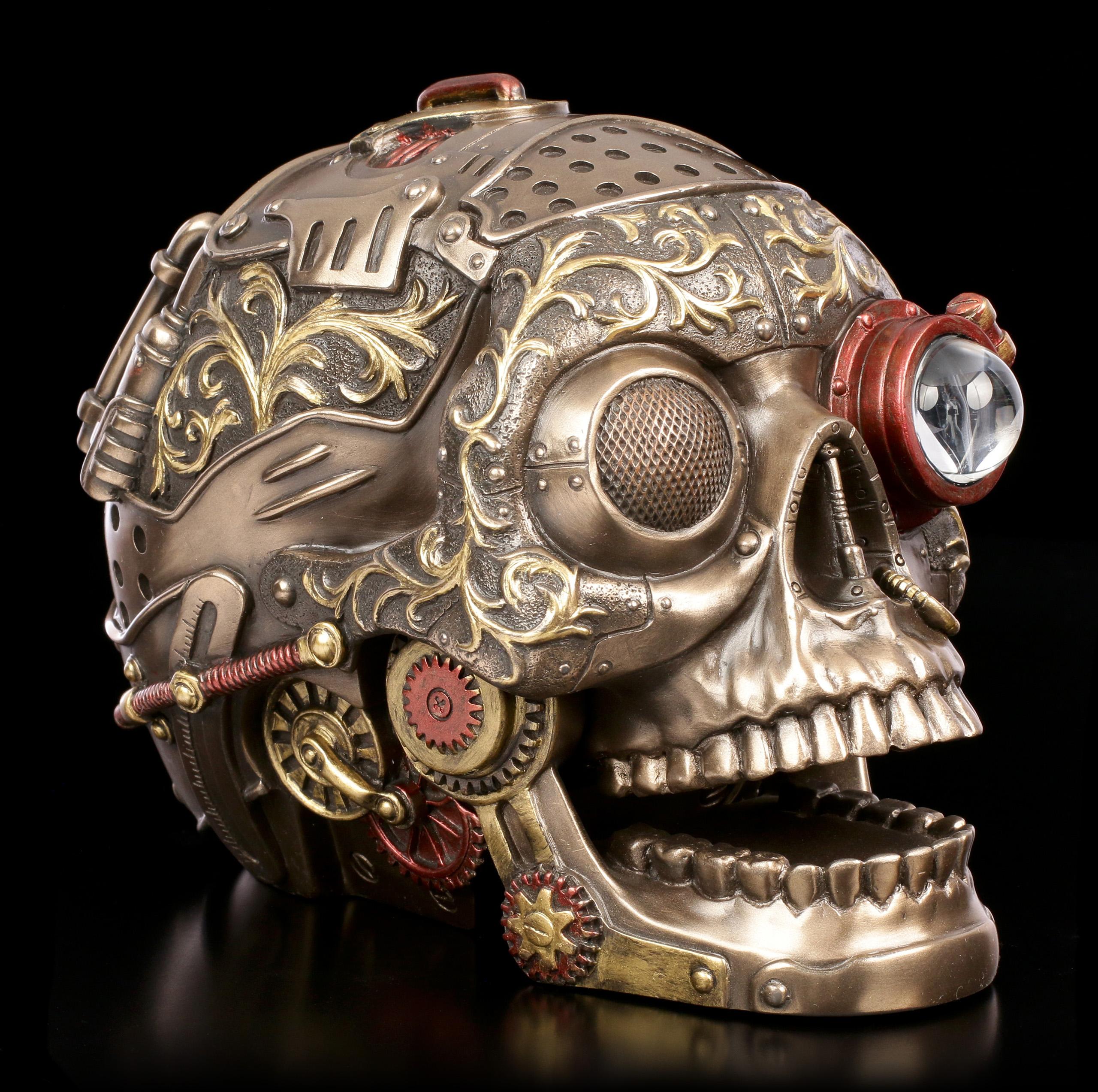 твоя механический череп картинки находящемся поблизости сквере