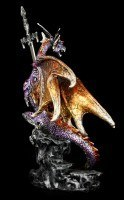 Drachen Brieföffner - Niir - bunt
