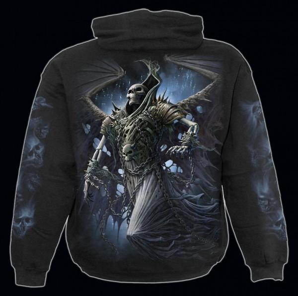 Winged Skeleton - Spiral Reaper Hoody
