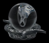 Psychics Ball with Pentagram and Holder