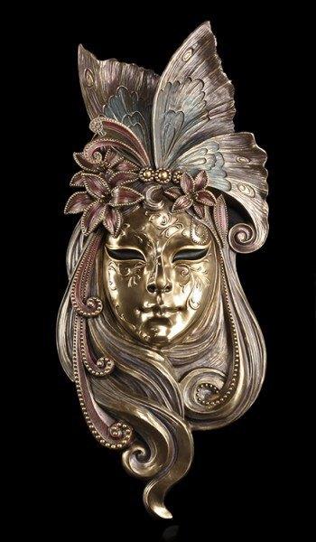 Large Venetian Ball Mask - Liliana