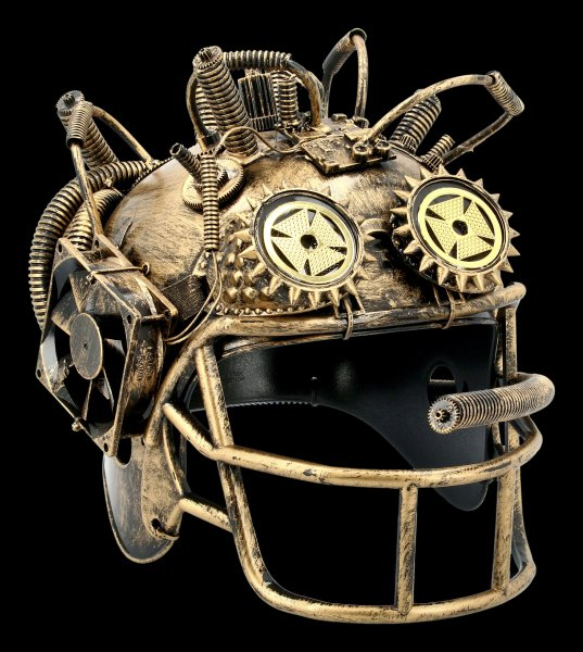 Steampunk Helm - Baseball