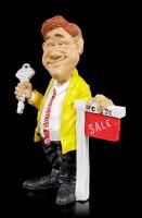 Funny Job Figur - Immobilienmakler