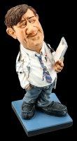 Funny Job Figur - Doktor mit Clipboard
