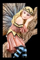 Elfen Figur - Prinzessin Mila träumend