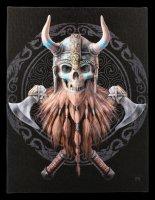 Small Canvas - Viking Skull