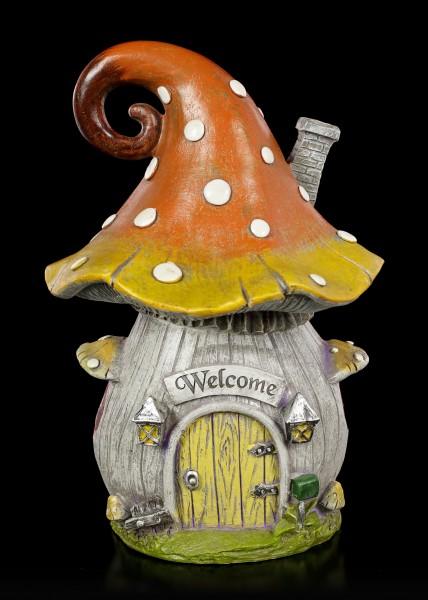Fairy House with LED - Large Mushroom