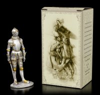 Pewter Knight Figurine with Sword VII