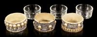 Schädel Teelichthalter - 3er Set