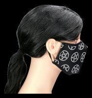 Gesichtsmaske - Pentagramme