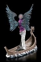 Dark Angel Figur - Schutzengel Tira auf Drachenboot