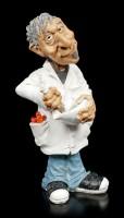 Funny Job Figurine - Pharmacist mixes new Drug