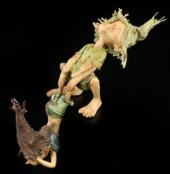 Pixie Kobold Figur - Kantenhocker