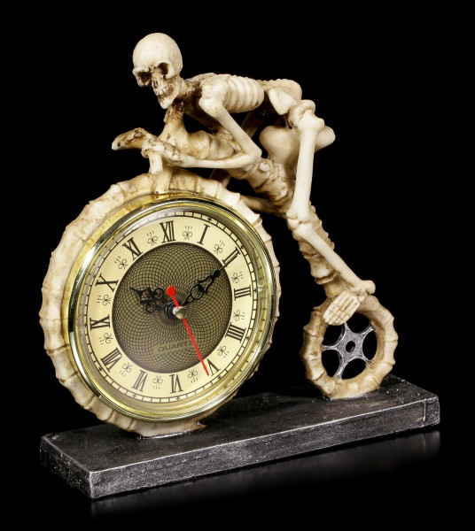 Skelett Uhr viktorianisch - Wheels of Time